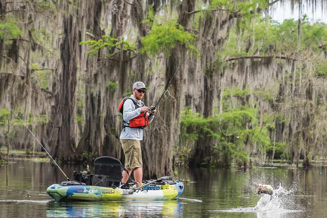 Kayak Fishing Camp Out Caddo Lake Kayak Angler